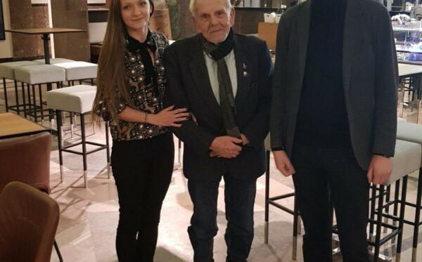 Alexis Prokopiev z Russie-Libertés z krótką wizytą w Warszawie