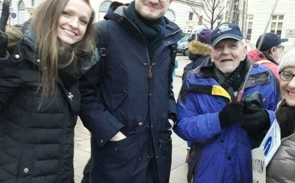 Alexis Prokopiev, współzałożyciel Russie-Libertés, odwiedził Warszawę