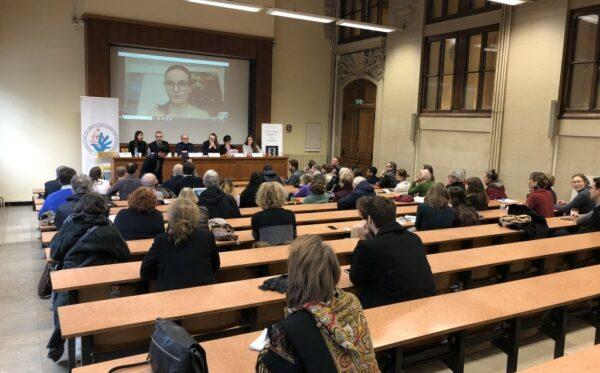 Prezes ODF przemawia podczas wydarzeń na Sorbonie we Francji oraz w Wyszehradzie na Węgrzech