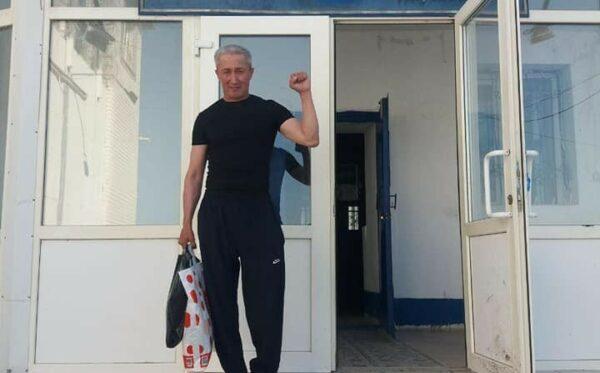 Więzień polityczny Ablovas Dzhumayev wyszedł na wolność