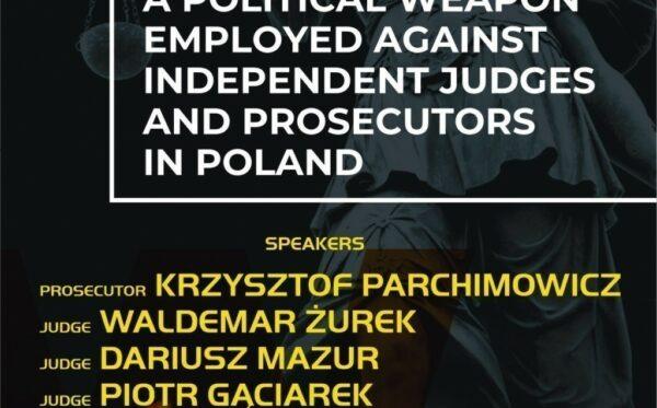 """""""Mowa nienawiści jako polityczna broń wymierzona w niezawisłych sędziów i prokuratorów w Polsce"""" — zapowiedź wydarzenia na OBWE HDIM 2019 w Warszawie"""