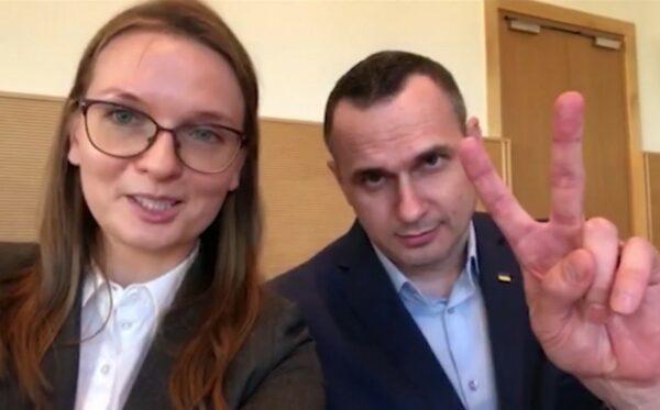Podziękowania i pozdrowienia Olega Sentsova dla Polaków