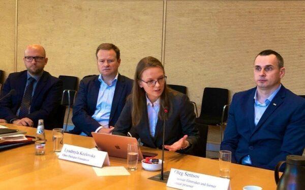 Wydarzenie w Bundestagu oraz spotkania z Olegiem Sentsovem, CCL i FIDU w Berlinie