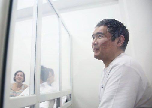 Iskander Yerimbetov na wolności