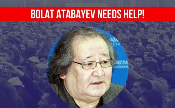 Bolat Atabayev needs help