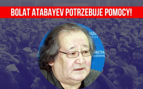 Bolat Atabayev potrzebuje pomocy!