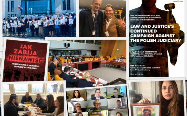 Czas podsumowań: jak walczyliśmy o praworządność w Polsce w 2020 r.