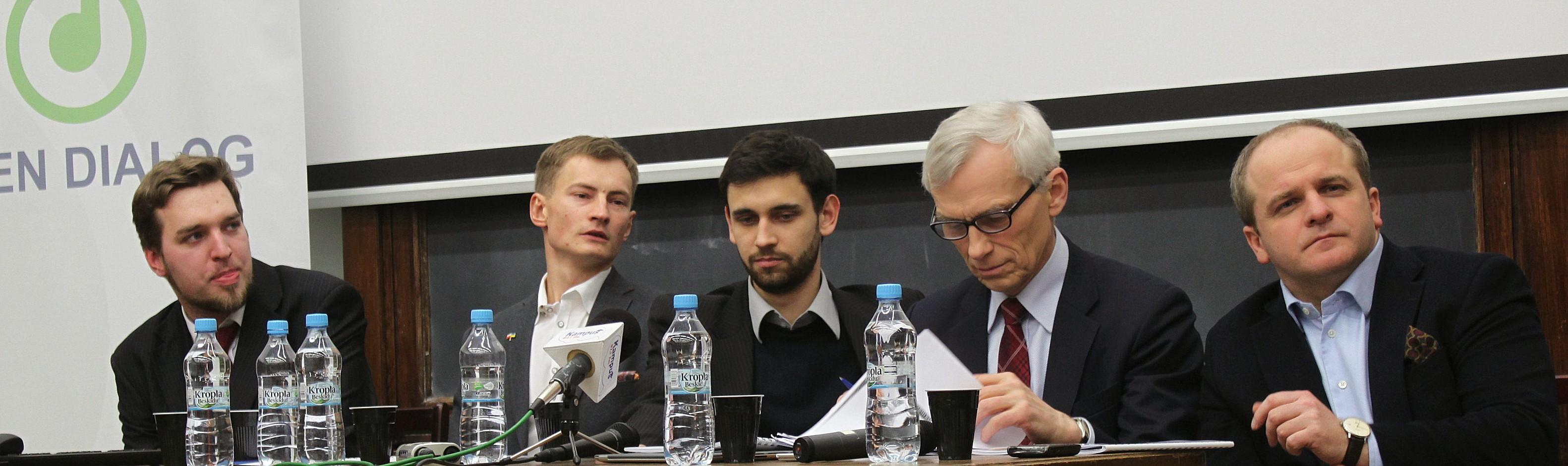 K. Chodkowski, B. Kramek, T. Piechal, M. Święcicki i P. Kowal