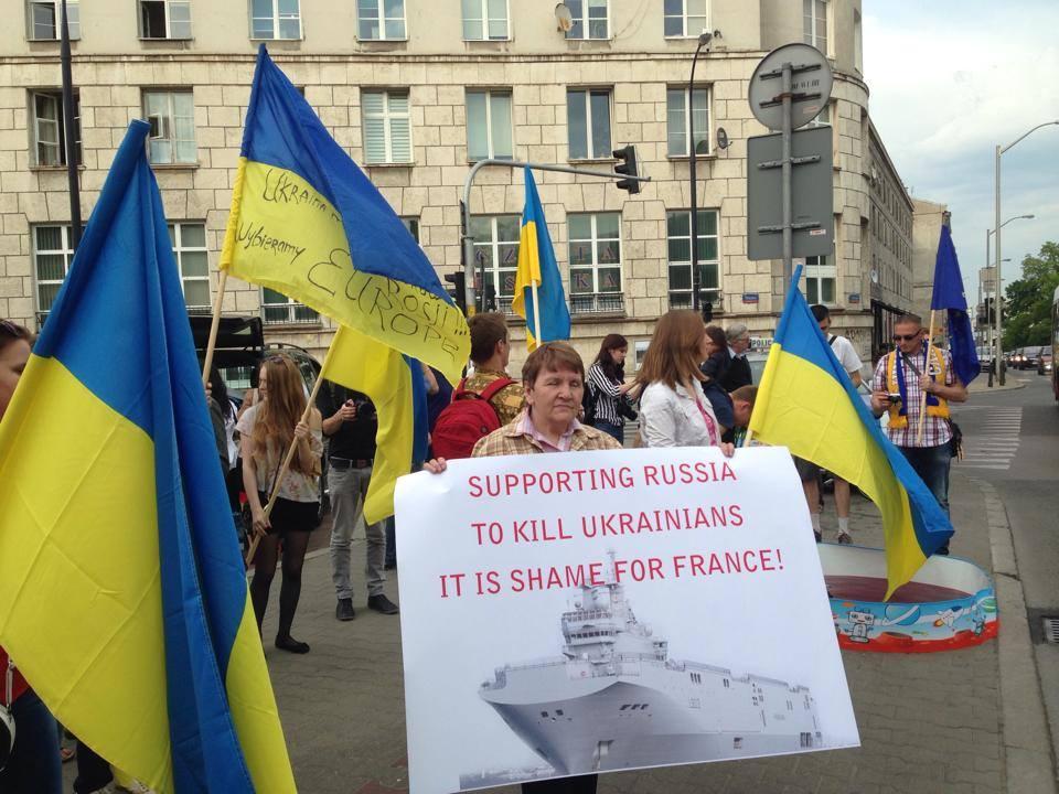 Sprzedaż przez Francję okrętów Mistral do Rosji wywołuje światowe oburzenie