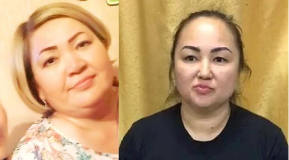 Akmaral Kerimbayeva i Gulmira Kalykova. Zdjęcie: osobiste archiwa działaczy.