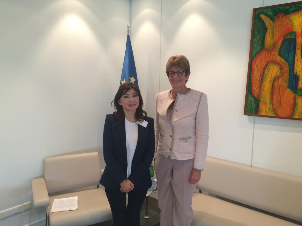 Alma Shalabayeva spotkała się z Anne Brasseur, przewodniczącą Zgromadzenia Parlamentarnego Rady Europy (PACE)