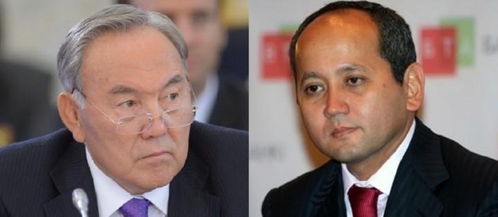 Nursultan Nazarbayev i Mukhtar Ablyazov