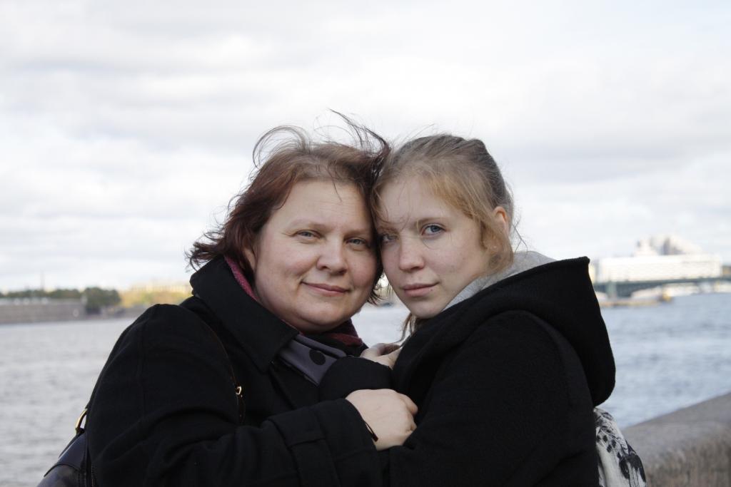 Tatiana Paraskevich z córką