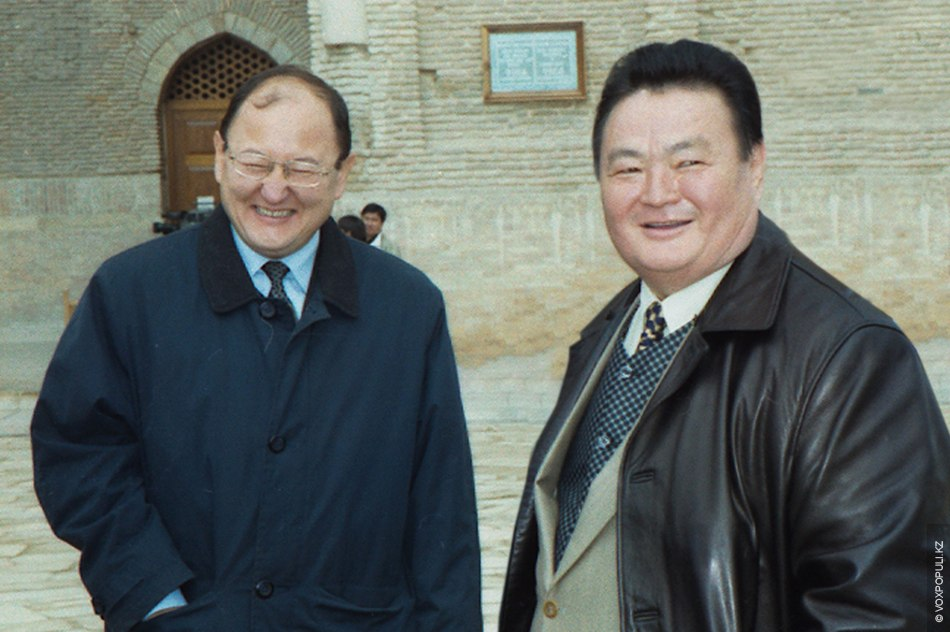 Nurkadilov i Sarsenbayev
